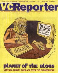 Ventura County Reporter - September 8, 2005 - Planet of the Blogs